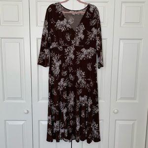 AA Studio Floral Dress 18W